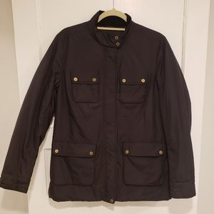 LIZ Claiborne black field jacket Ladies Medium